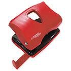 Дырокол до 20 листов Expert Complete Classic Корпус пластиковый красный с линейкой